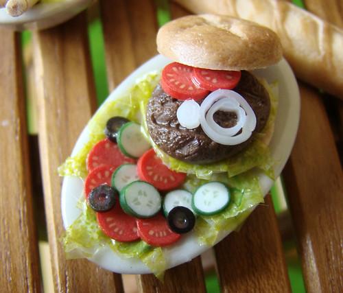 Miniature Hamburger
