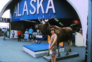 Alaska exhibit at the World's Fair 1965