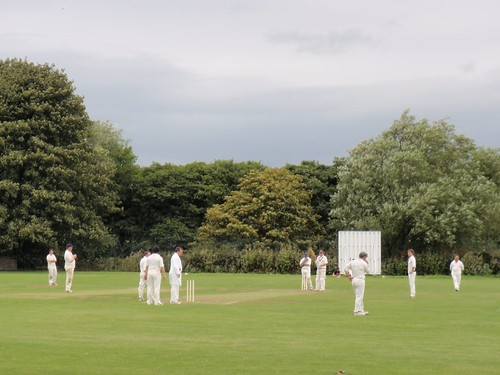 Cricket in Ilkley
