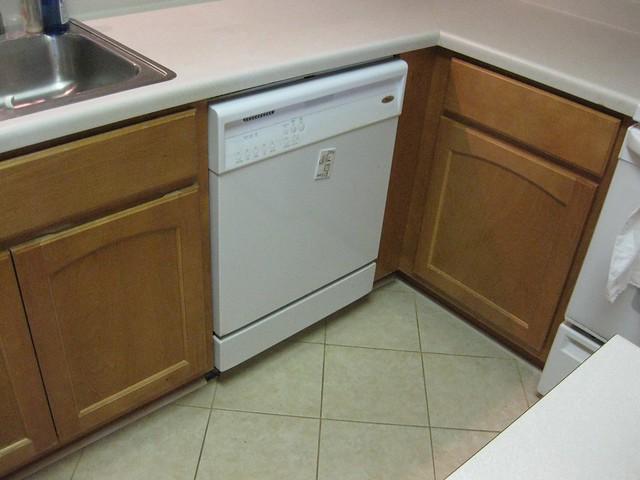 Kitchen Cabinet Dishwasher Pipe Grommets