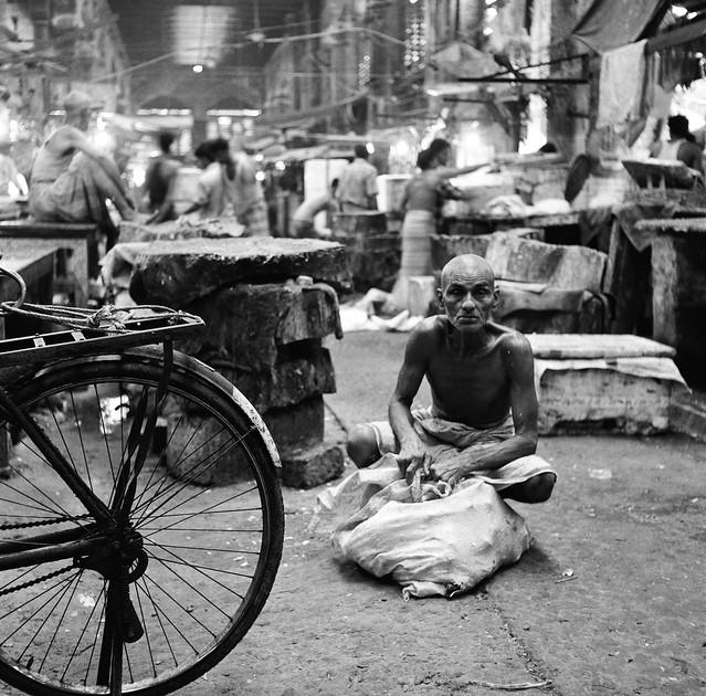 Bone collector, Kolkata.