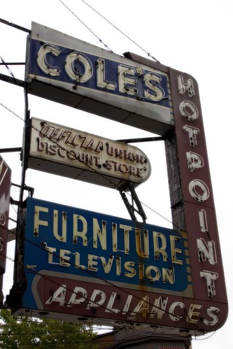 Cole's Furniture Sign-Chicago, IL