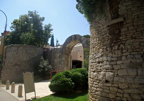Porta d'Hèrcules, Pula (Pola), Ístria, Croàcia