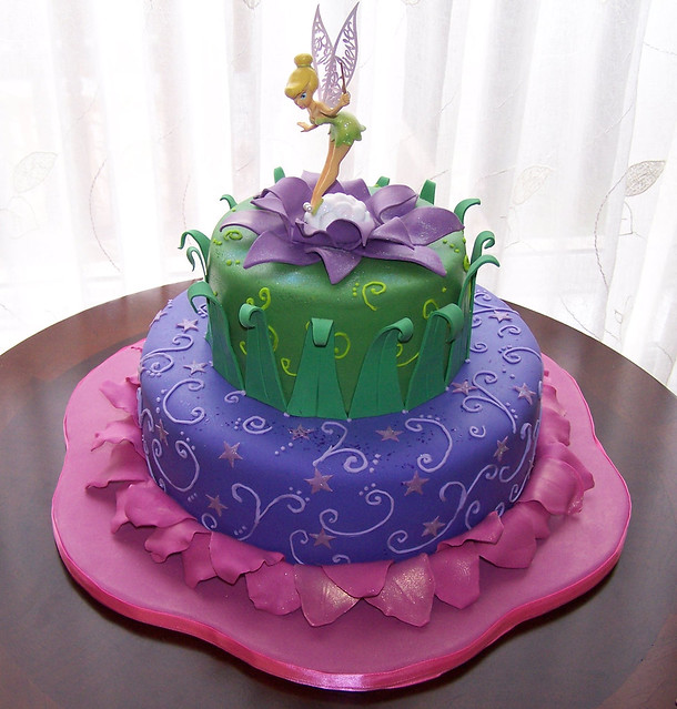 Cake Designs Tinkerbell : Tinkerbell Cake Flickr - Photo Sharing!