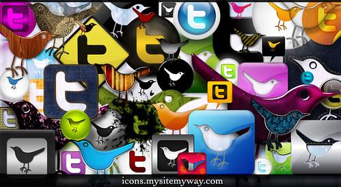 Webtreats 53 Twitter Icons Promo Pack
