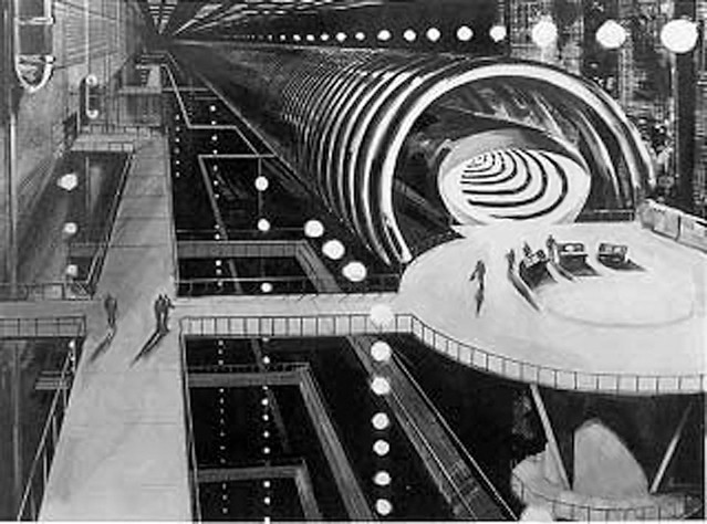 1966 ... Time Tunnel - prod. drawing