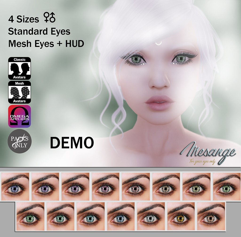 MESANGE - Mercury Eyes for LOST&FOUND - SecondLifeHub.com