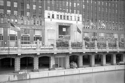 The Merchandise Mart in 1950