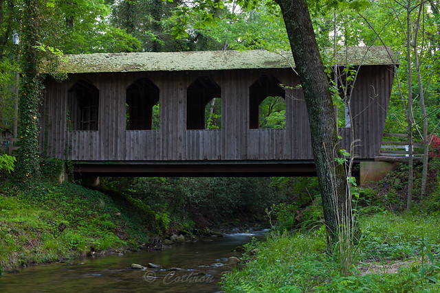 Pool Creek Covered Bridge