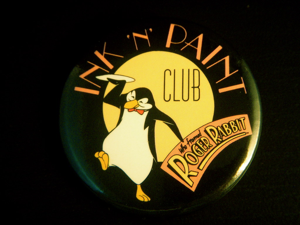 1988 Roger Rabbit Ink 'N' Paint Club Pin