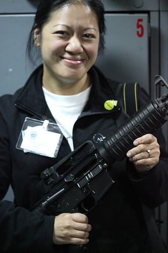 Charlene Li with a gun is hotter than Guy