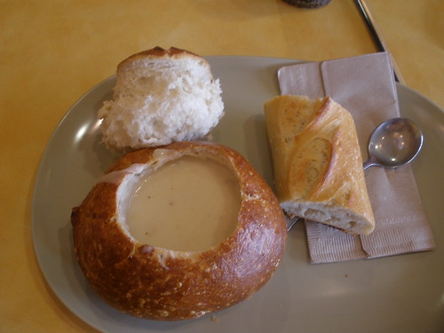 Lunch @ Panera's