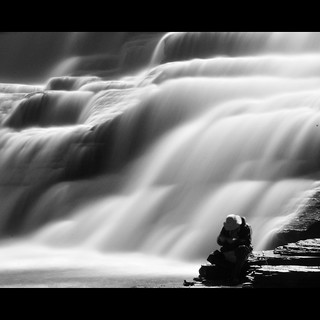 The fisherman by the falls - EXPLORED FP