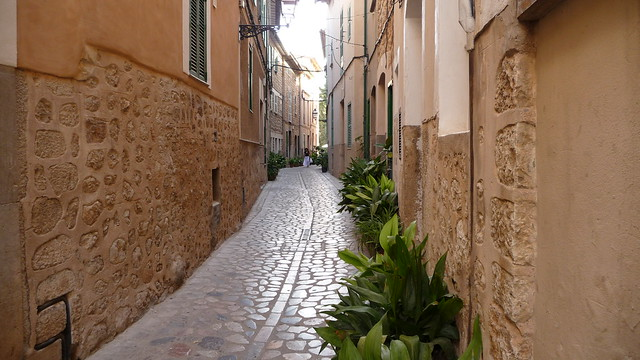 a lane of the tranquility/ Mallorca- Soller
