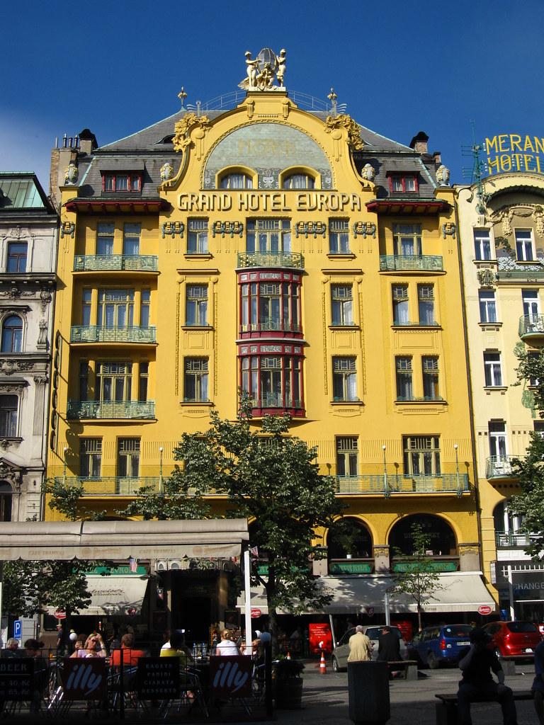Grand Hotel Europa - Wenceslas Square