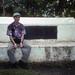 me  & the tomb of Robert Louis Stevenson by scott.zona