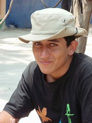 Retrato de un joven muy amable - Portrait of a friendly young man; Jinotega, Nicaragua