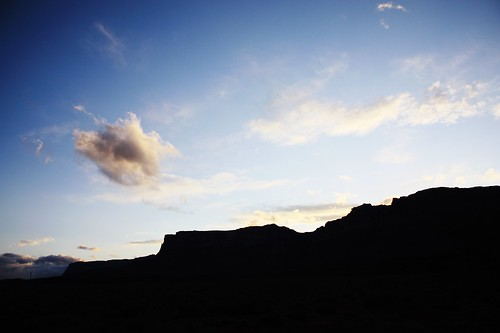 blue sunset shadow arizona sky usa black silhouette clouds america landscape scenery rocks afternoon az cliffs ciff canoneos450d canonefs1855mmf3556is efs1855mmf3556is