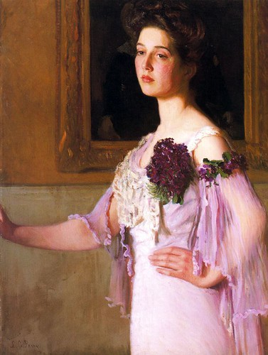 Lilla Cabot Perry - Portrait Of Alice Perry Grew