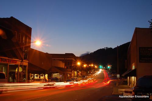 mountains night buildings sunsets northcarolina boone