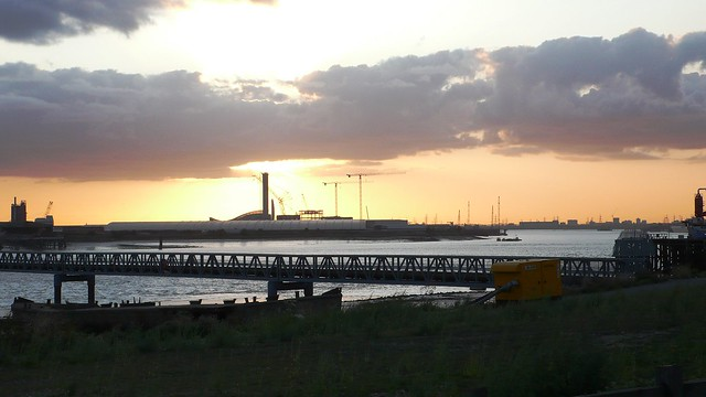 River Thames at Rainham, London