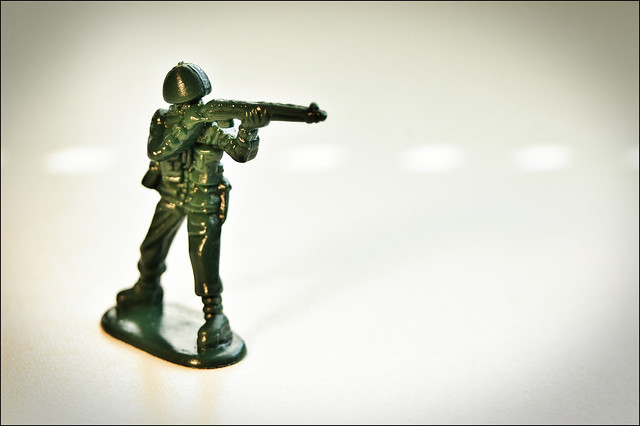 Green Army Men from Flickr via Wylio