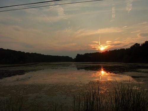 sunset lake resovoir ladue