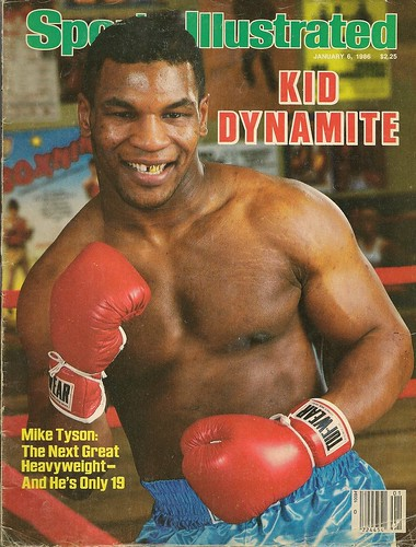 Sports Illustated With Mike Tyson Cover
