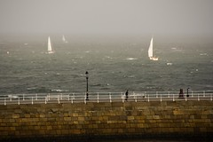 Sunday morning sailing - Whitby