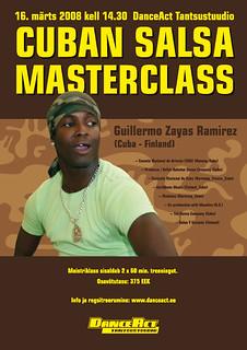 Cuban Salsa Masterclass