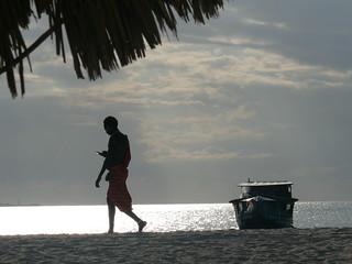 Zanzibar at dusk