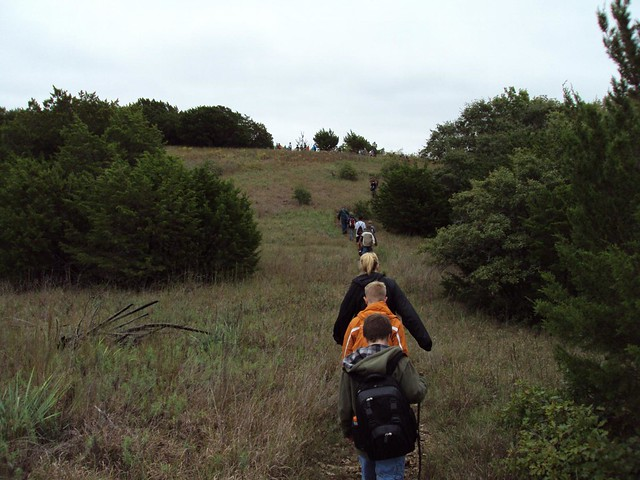 Hiking On The Top Of The Ridge By Camp Classen Flickr