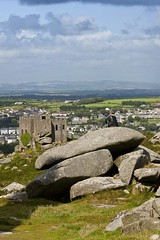 Carn Brea and redruth