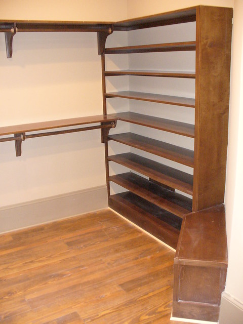 Custom Closet Shoe Rack And Bench Seat Flickr Photo Sharing