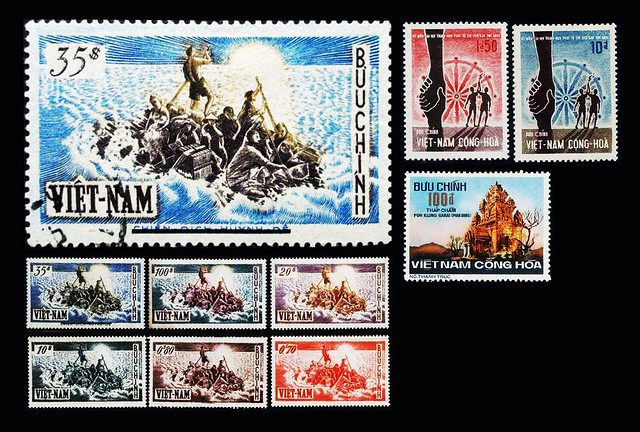 SVN stamps 31 -- some special stamps