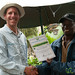 Dan Gets Certificate for Reaching Uhuru Peak - Mt. Kilimanjaro, Tanzania