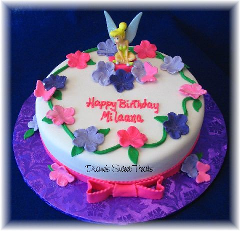 tinkerbell cake   Flickr - Photo Sharing!