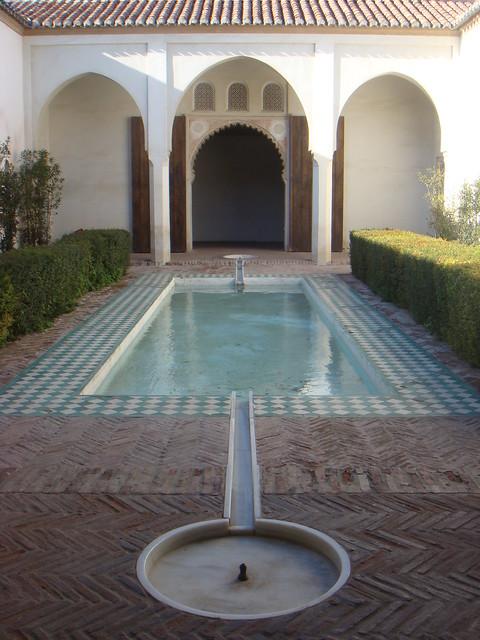 Moorish Patio With Pool In The Alcazaba Malaga Flickr