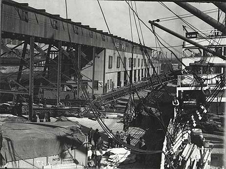 Wharf No.8-9, Glebe Island