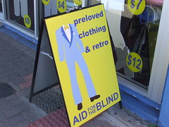 Aid for the Blind Op Shop (Thrift Store), Ipswich Rd, Annerley Junction, Brisbane, Queensland, Australia 090617