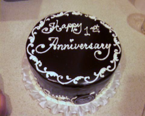 Cake Images For First Anniversary : Special Cake For All Moment: 1st anniversary cake idea