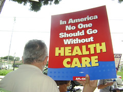 No one should go without health care