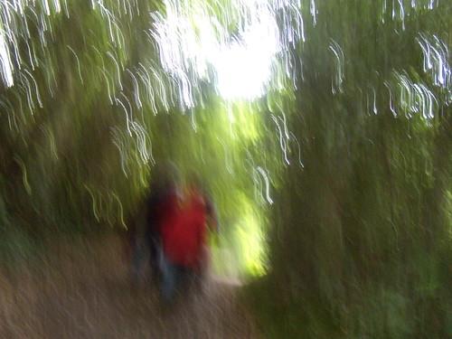 Blurred folk