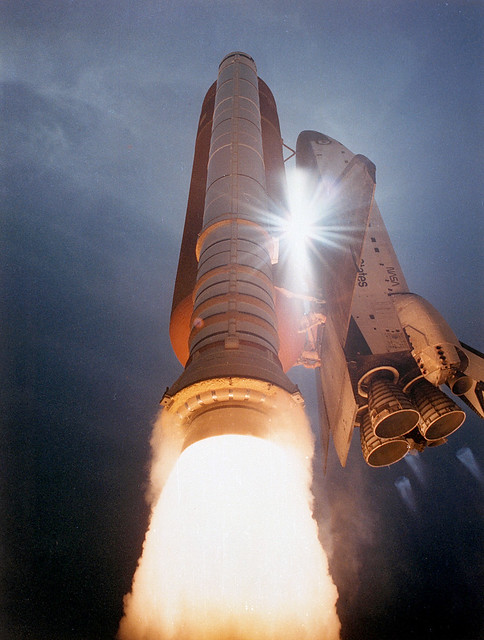 STS-43 Launch