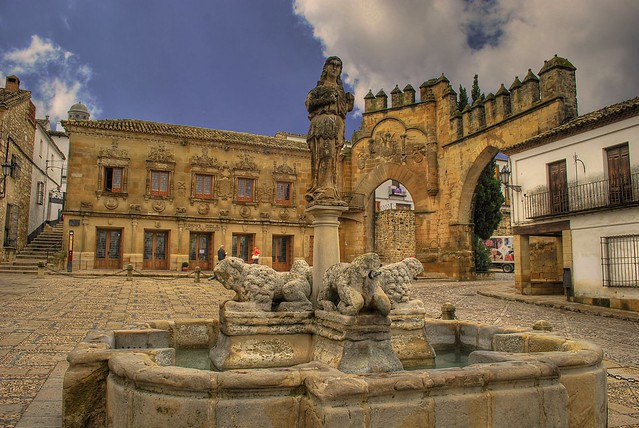 Baeza Spain  City pictures : Plaza de los leones Baeza | Flickr Photo Sharing!