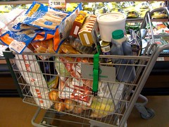 supermarket(1.0), food(1.0), grocery store(1.0), shopping cart(1.0),