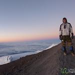 Dan at the Top - Mt. Kilimanjaro, Tanzania