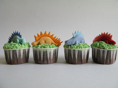 Dinosaur Birthday Cake on Dinosaur Birthday Cupcakes   Flickr   Photo Sharing