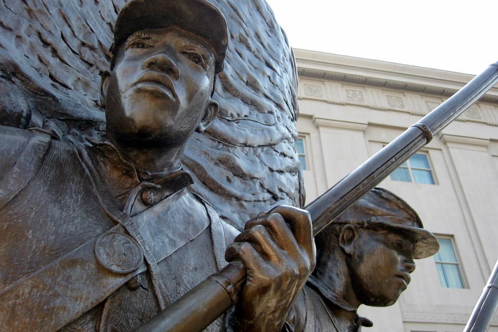 Washington DC - Shaw - U Street Corridor: African-American Civil War Memorial