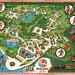 Worlds of Fun - Kansas City, Missouri - Souvenir Map - art by Byron Gash - 1973 by JasonLiebig